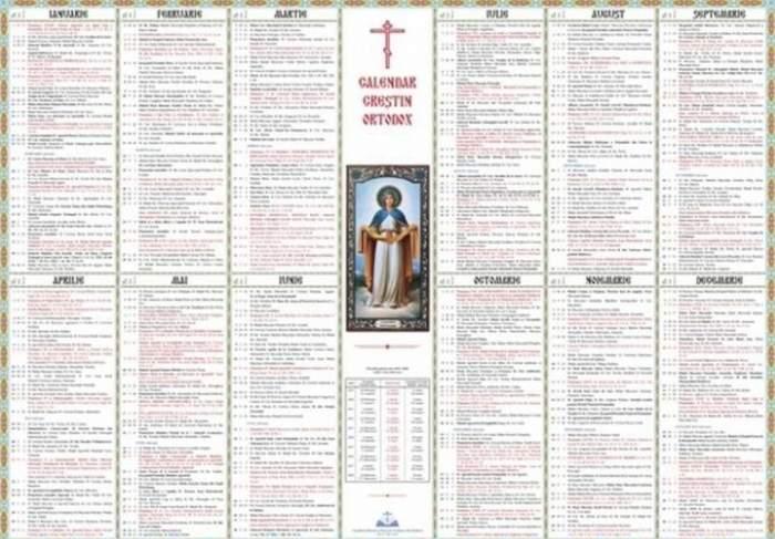 Calendar ortodox, miercuri, 29 ianuarie. Sărbătoare mare pentru toţi credincioşii