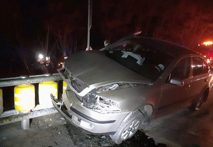 Accident grav în Ialomița! Un șofer beat s-a rostogolit cu mașina și a omorât un tânăr de 19 ani