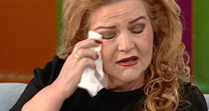 """Maria Cârneci, în lacrimi la tv. Artista a vorbit cu greu despre pierderea soțului: """"A fost sufletul meu"""""""