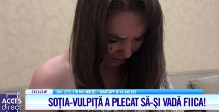 """Soţia-vulpiţă a plecat cu noaptea în cap să-şi vadă fiica! Viorel a rămas în Capitală: """"Mă duc la gagici"""" / VIDEO"""