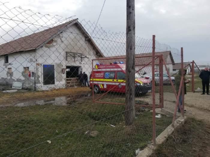 Explozie puternică în Alba! Un bărbat a fost ucis şi altul a ajuns la spital