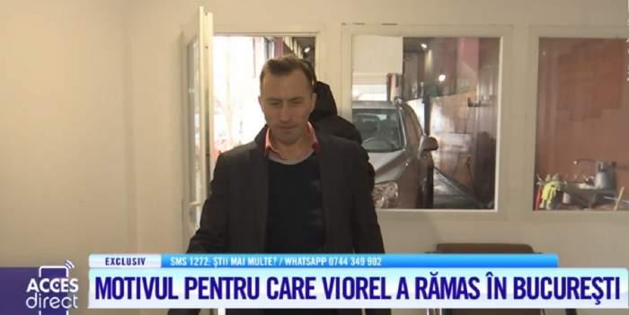 Viorel vrea să rămână în Bucureşti! Unde a dat o probă soţul vulpiţei? E aproape angajat! VIDEO