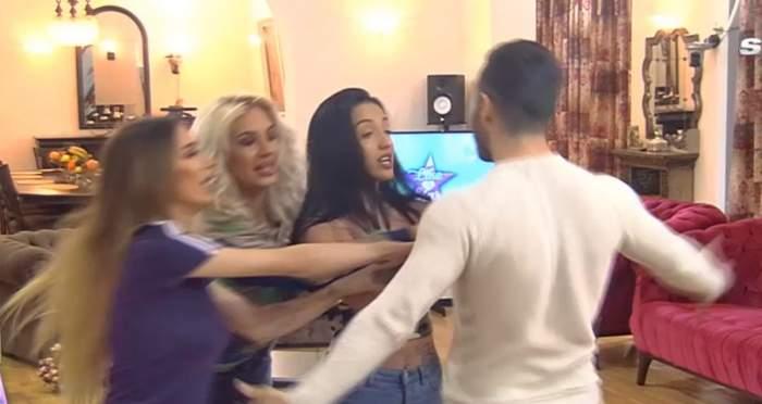 """Scandal monstru în casa Like a Star. Mădălin, atacat de fete după ce i-a adresat replici dure Larisei: """"Ți-am zis să o lași în pace"""""""