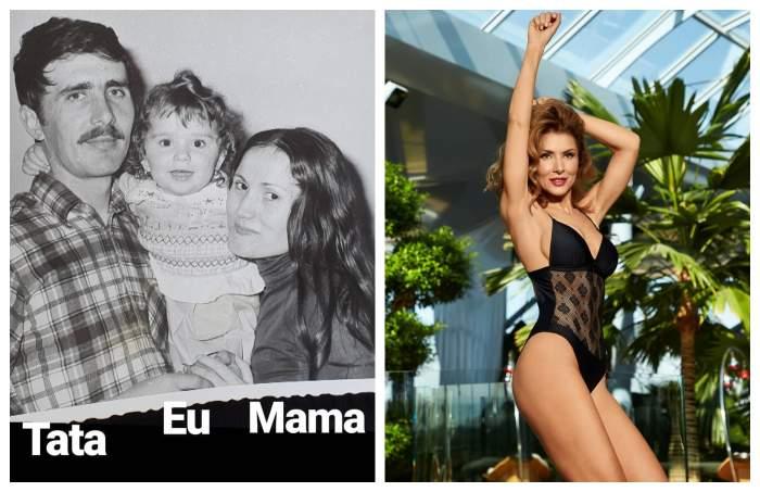 FOTO / Carmen Brumă, fotografii de colecţie alături de părinţi! Cum arăta iubita lui Mircea Badea acum 40 de ani