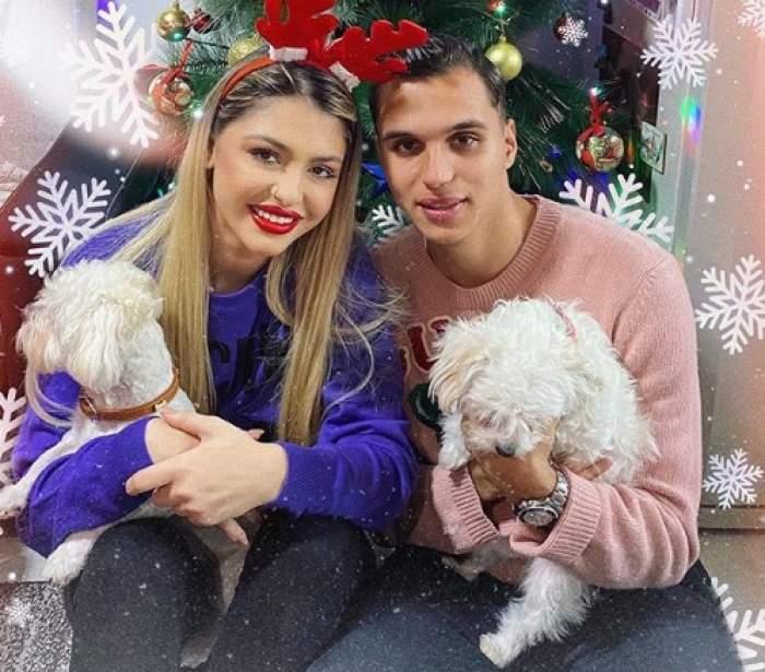 Iubita lui Cristi Manea nu merge la săli de lux ca alte partenere ale fotbaliştilor. Irina s-a filmat în timp ce face sport acasă / VIDEO