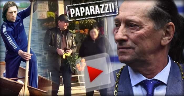 VIDEO PAPARAZZI / A fost sportiv de top, dar se pricepe şi la comedie! Ivan Patzaichin a dat recital într-o florărie
