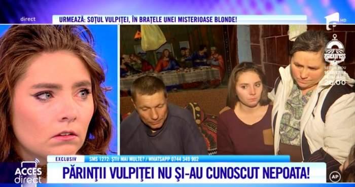 Vulpiţa, întâlnire emoţionantă cu părinţii ei. Veronica a fost primită cu ciorbă, pâine şi lacrimi în ochi de cei care i-au dat viaţă / VIDEO