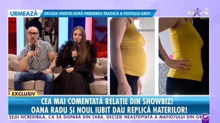 """Oana Radu și iubitul, prima apariție la """"Răi da Buni"""". Replica dată celor care le-au criticat relația"""