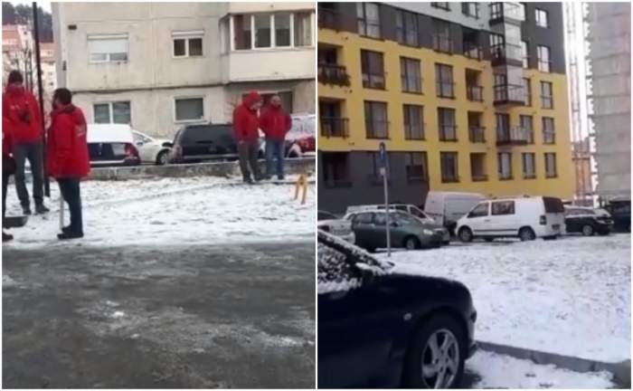 Primele imagini de la tragedia din Brașov. Un tată s-a aruncat de la etajul zece cu fetița de 3 luni în brațe