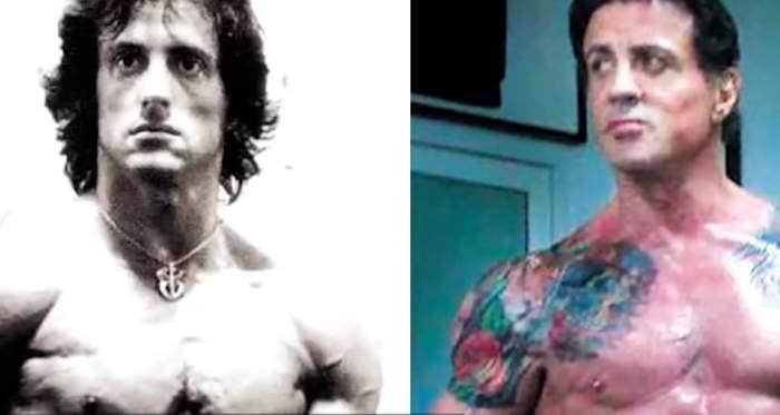 """Sylvester Stallone, mutilat din cauza intervențiilor estetice! A ajuns să semene cu mama lui, considerată """"dezastrul chirurgiei plastice"""" de la Hollywood/ FOTO"""