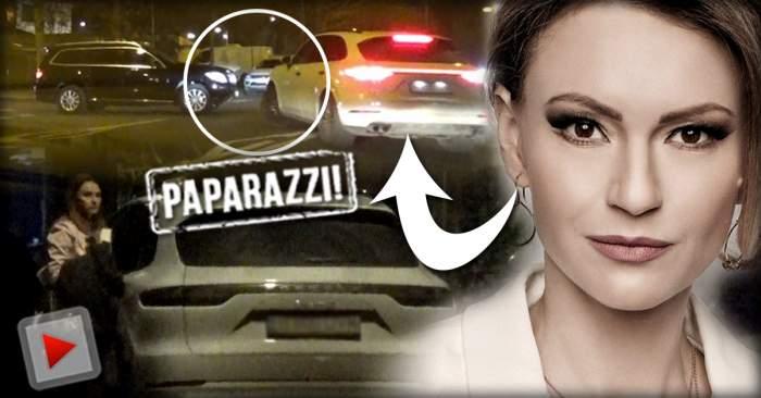 VIDEO PAPARAZZI / Când se află la volan, Dana Războiu e pericol public! Vedeta a fost surprinsă în timp ce făcea ravagii în Bucureşti