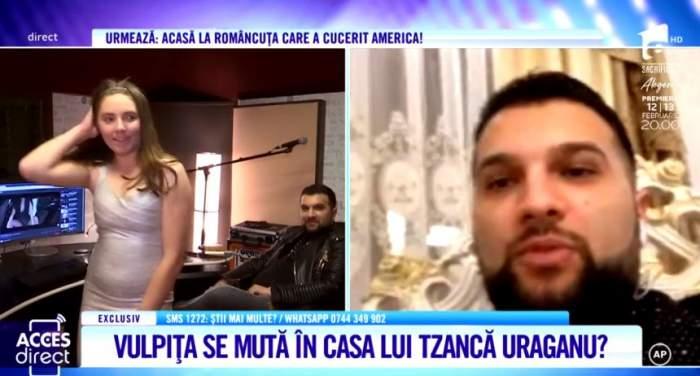 TzancăUraganu vrea să o facă pe vulpiţă dansatoarea lui. ''O duc în Germania''