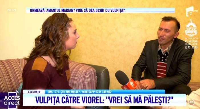 Vulpiţa şi Viorel, scandal monstru după emisiunea de ieri. ''Ai spus că preferi blondele, să te duci la ele!'' / VIDEO
