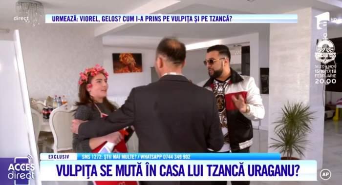 Vulpiţa a trecut la munca de jos. Veronica a dat probe pentru a deveni menajeră în casă la Tzancă Uraganu / VIDEO