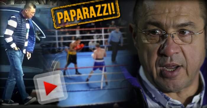 VIDEO PAPARAZZI / Rudel Obreja s-a reprofilat! Iată ce a ajuns să facă fostul şef al boxului românesc