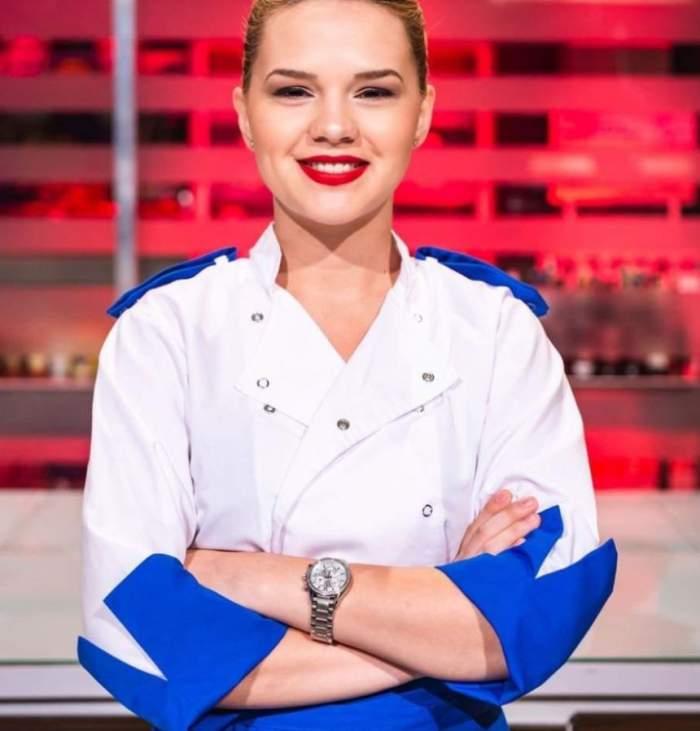 Drama neştiută a Rahelei, cea mai frumoasă concurentă de la ''Chefi la cuţite''. Şi-a pierdut tatăl când era mică, iar de atunci s-a apucat de gătit