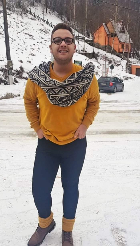 Cum arăta Răzvan Babană înainte să participe la ''Chefi la cuţite''. Era slab tare / FOTO