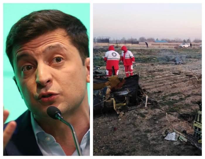 Prima reacție a Ucrainei după prăbușirea avionului din Iran! A fost confirmată moartea a 180 de persoane