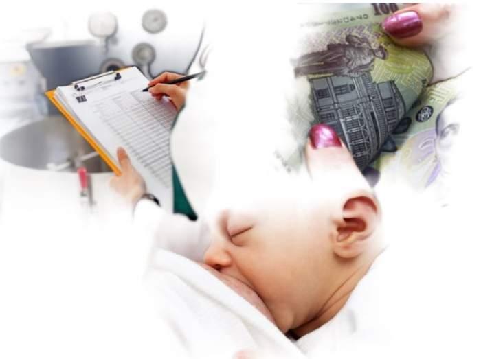 Amenzi pentru femeile care nu-şi alăptează copiii la sân! Ce proiect de lege a propus Ministerul Sănătăţii