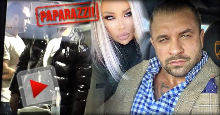 VIDEO PAPARAZZI / Alex Bodi e cel mai tare barosan! Soţul Biancăi Drăguşanu a făcut instrucţie cu angajaţii unui magazin exclusivist
