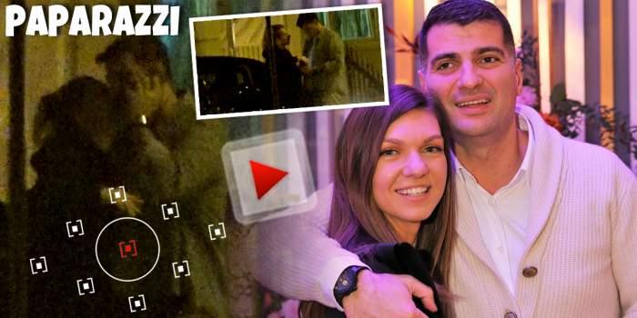 Simona Halep este pasională pe teren, dar și cu iubitul! Sportiva și Toni Iuruc, surprinși în momente de tandrețe la un restaurant din Capitală / PAPARAZZI