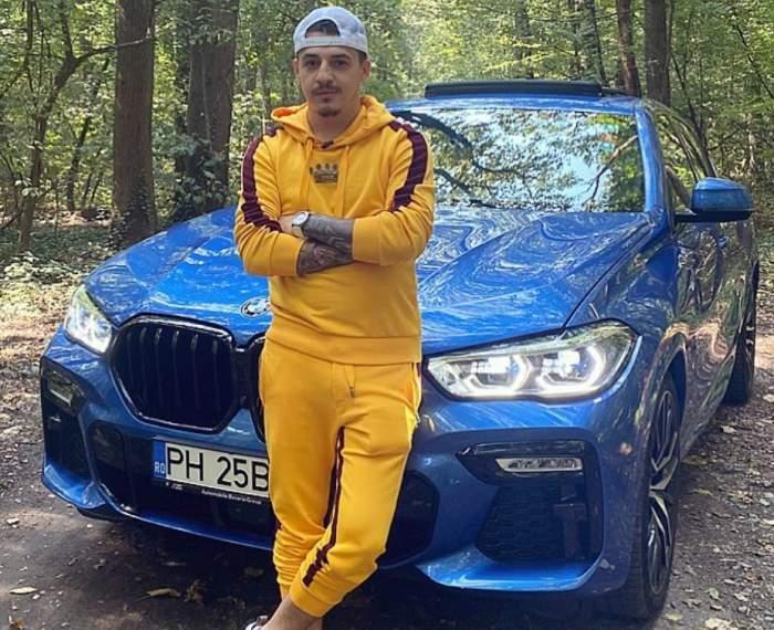 Bogdan de la Ploiești și-a găsit mașina vandalizată