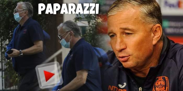Dan Petrescu suflă și-n iaurt, după infectarea cu Covid-19! Cum se protejează celebrul antrenor, chiar și când e cu familia. Imagini cu fostul fotbalist / PAPARAZZI
