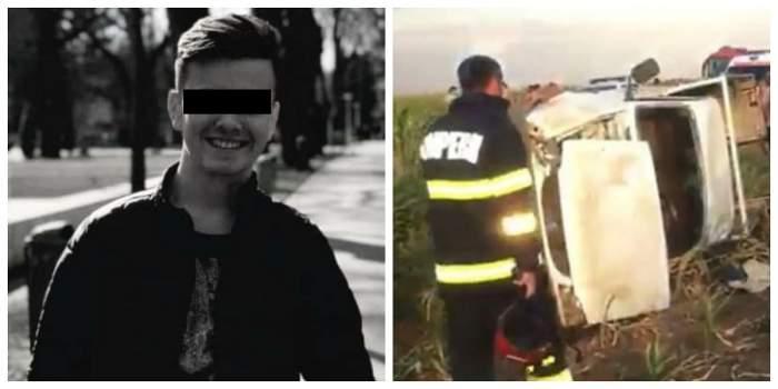 Alexandru, băiatul care a murit în accidentul din Brăila.