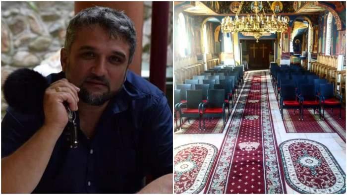 Adrian Căpitănescu, preotul infectat cu COVID din Drobeta Turnu Severin