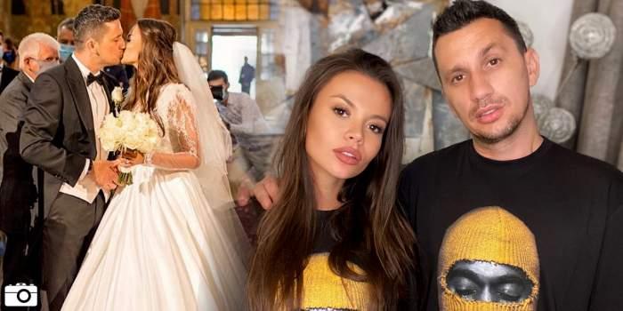 Flick și Denisa Hodișan s-au căsătorit religios! Primele imagini de la biserică!