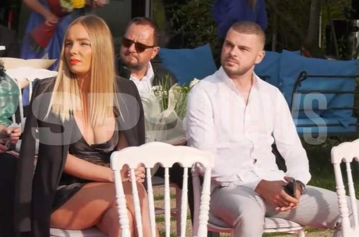 Primele imagini cu noul iubit al Mariei Constantin! Cei doi au mers împreună la nunta lui Valentin Sanfira