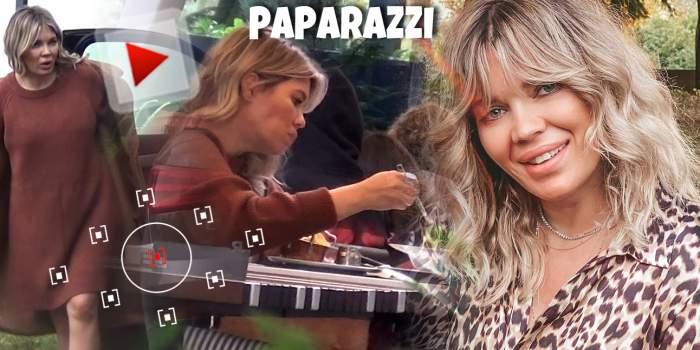 Gina Pistol, între răsfăț și pofte culinare! Viitoarea mamică își satisface toate dorințele. Cum a fost surprinsă! / VIDEO PAPARAZZI