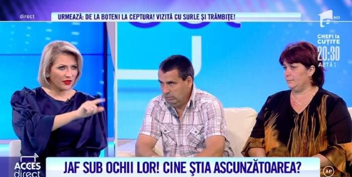 Acces Direct. Doi soți din Pitești au fost jefuiți de 47.000 de euro! Mihaela și Gheorghe voiau să-și cumpere un apartament pentru a adopta un copil! / VIDEO