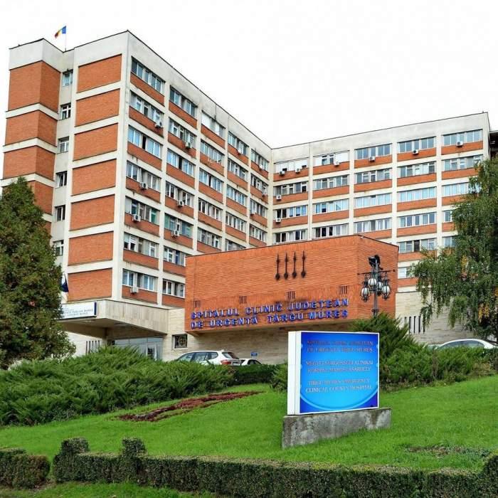 Spitalul de Urgență din Târgu Mureș se închide