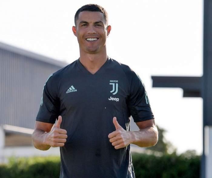 Cristiano Ronaldo are coronavirus