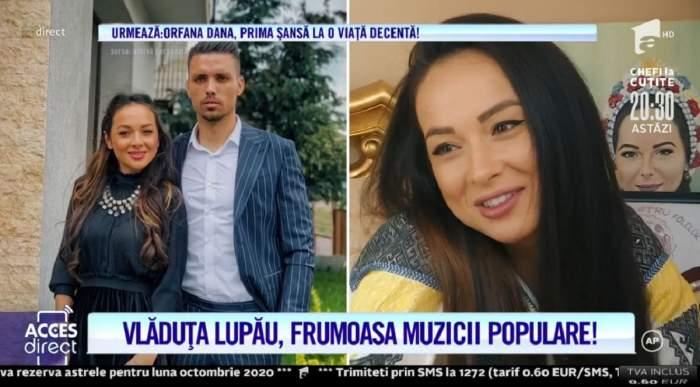 """Cum a fost cerută în căsătorie Vlăduța Lupău! Artista, mărturisiri emoționante despre începutul relației cu Adi Rus: """"M-a oprit Poliția"""" / VIDEO"""