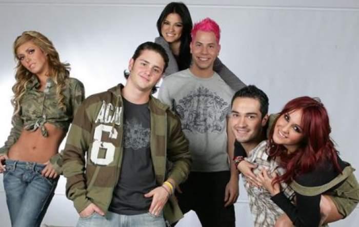 Membrii trupei RBD.