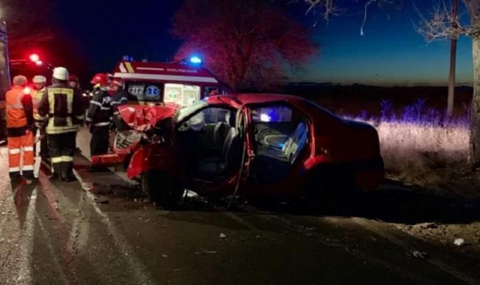 Un copil de 14 ani din Dâmbovița s-a urcat la volan sub influența alcoolului și a provocat un accident! A fugit imediat după impact!