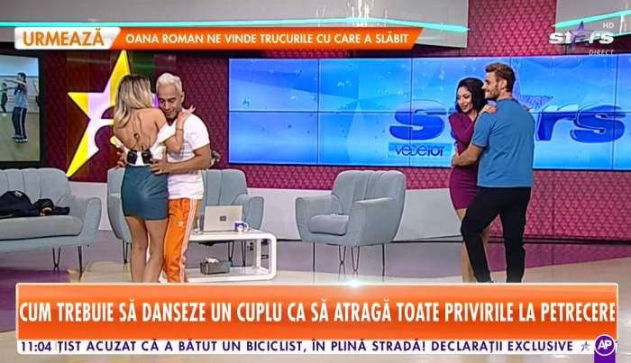 Dima și Nasrin pe ringul de dans alături de Willmark