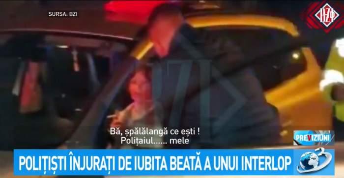 Scandal cu polițiștii din Iași și o femeie beată la volan