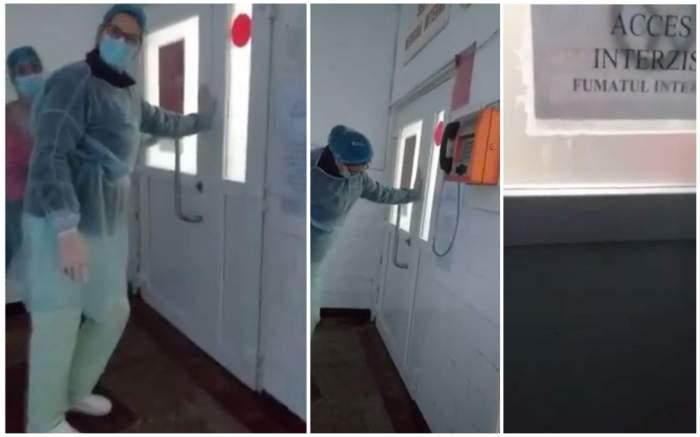 Fost primar, infectat cu COVID-19, scandal monstru cu asistentele! Bărbatul a reușit să fugă din spital / VIDEO