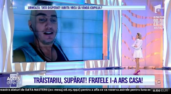 """Ce decizie radicală a luat Mihai Trăistariu în privința fratelui său, după ce i-a dat foc la casă: """"Mi-e teamă"""" / VIDEO"""