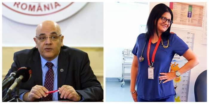 Colaj cu Raed Arafat și Mioara Neagu, medicul mort de COVID-19.