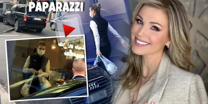 Pentru poftele sale, Cristina Rus uită până și de regulile de circulație! Cum a fost surprinsă în plină zi! / VIDEO PAPARAZZI