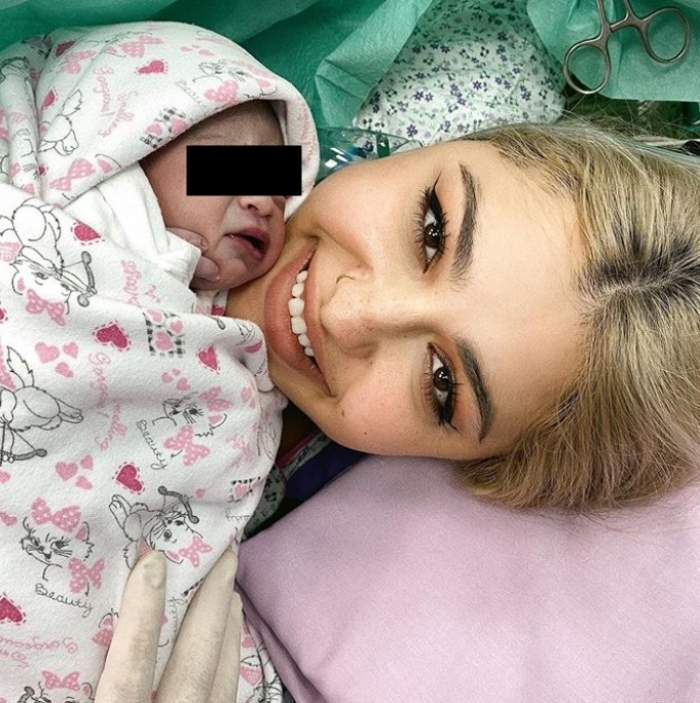 Irina Deaconescu a născut! Vedeta a devenit mămica unei fetițe! Primele imagini!