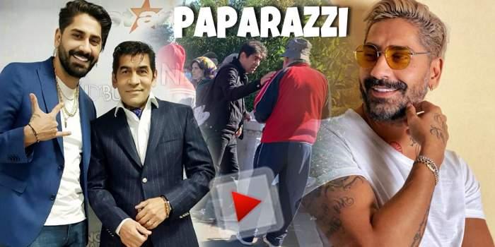 Aurel Mihalache, credincios cu gândul și cu fapta. Tatăl lui Connect-R se roagă pentru familie, dar nu uită să-i ajute și pe oamenii străzii / PAPARAZZI