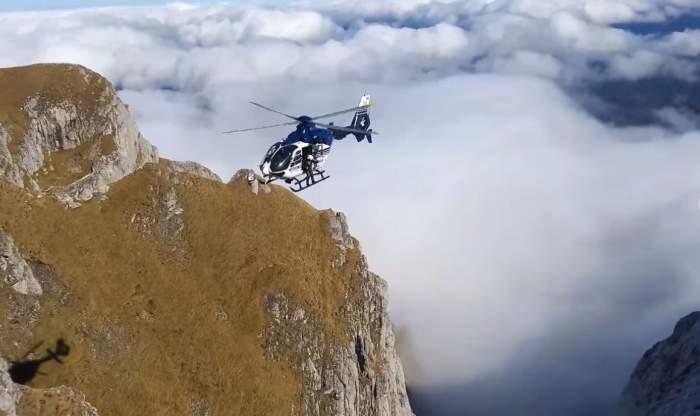 Turist mort în Bucegi. Cadavrul a fost scos cu ajutorul elicopterului / VIDEO