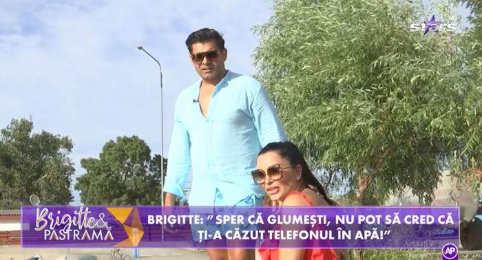 Florin Pastramă și-a pierdut telefonul în timp ce ăncerca să nu cadă în apă