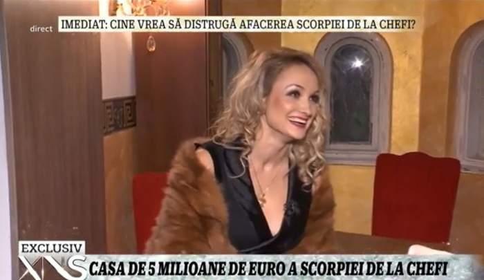 Amalia Bellantoni își prezintă casa
