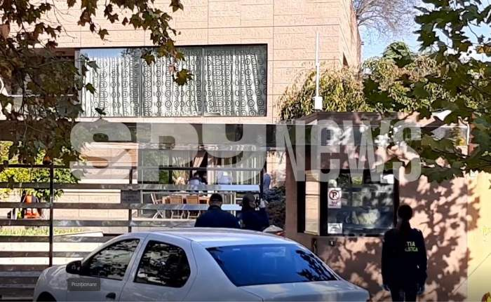 Echipaje de poliție și ambulanță acasă la Dan Nicorescu. Milionarul ar fi fost prădat de hoți! Imagini exclusive în timp real! / VIDEO